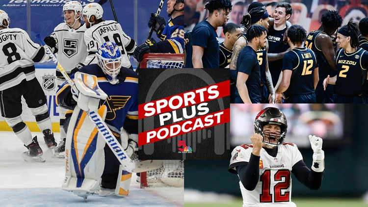 Sports Plus Podcast | Current Chiefs vs. St. Louis' 'Greatest Show', Blues confusion and Mizzou hoops notice to the country