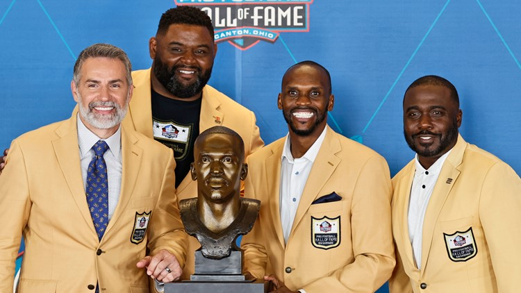 'I love you and I thank you': Isaac Bruce thanks St. Louis in Pro Football Hall of Fame speech