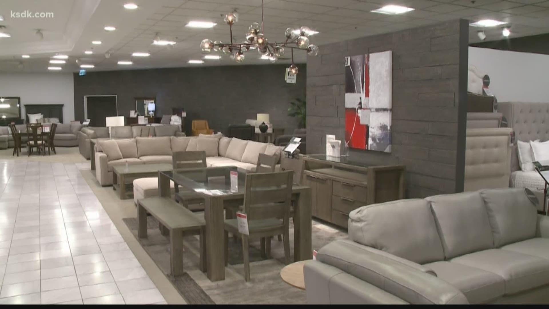 The Furniture Department At Macy S Got, Macys Furniture Gallery Dallas