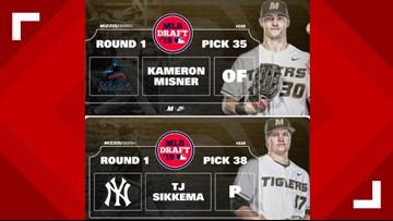 Mizzou baseball makes history in MLB Draft