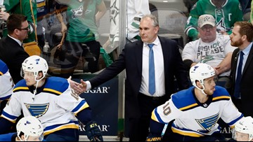 Berube lived in the moment, eventually turned Blues around, earned new contract