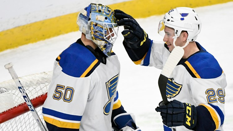 Blues looking for history Tuesday night against Toronto