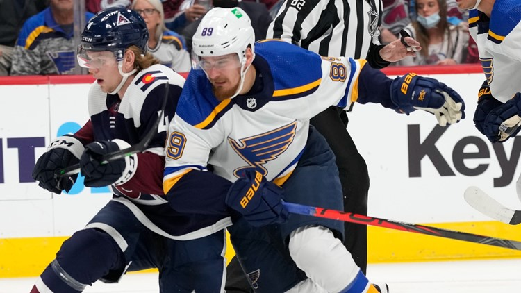 Blues forward Pavel Buchnevich suspended two games for headbutt against Arizona