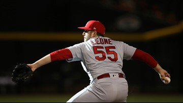 Cardinals designate Leone for assignment, add three players to 40-man roster