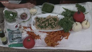 Recipe of the Day: Kale Pesto Pasta (gluten free)