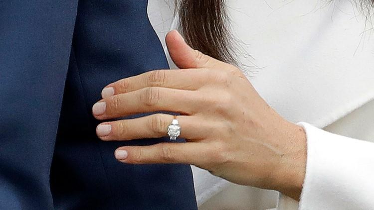 Britain Meghan's Ring