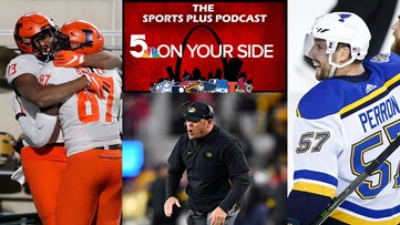 Sports Plus Podcast: Red hot Blues, Illini on a roll and Mizzou at rock bottom