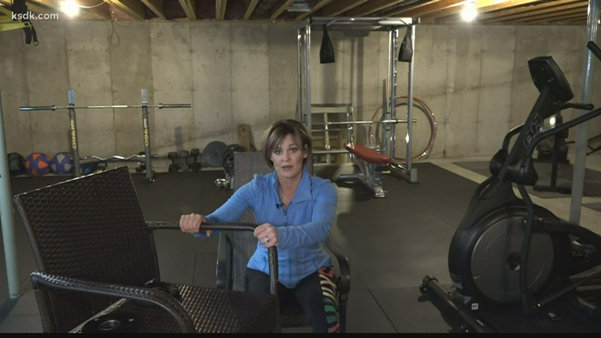 Virtual workouts | Tips from TISL's Monica Adams | ksdk.com