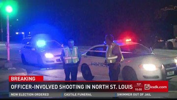 Officer involved shooting in North St. Louis