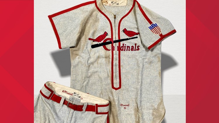 Rare Stan Musial World Series uniform up for auction