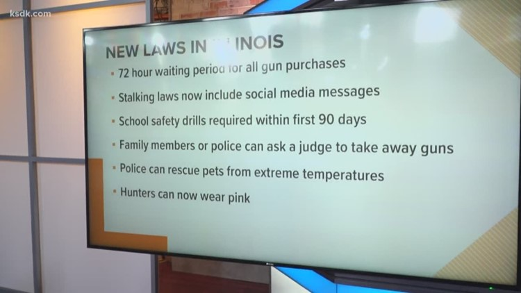 New Laws In Illinois 2019 Hundreds of new Illinois laws for 2019 | ksdk.com