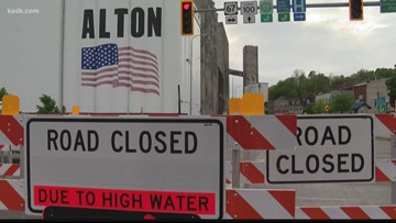 Roads, businesses close across St  Louis metro area due to