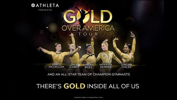 Enter for your chance to win tickets to the 'Gold Over America Tour' with Simone Biles, more great athletes
