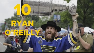 Frank's top ten greatest St. Louis Blues of all-time