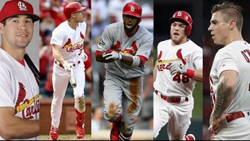 An early look at what the Cardinals' musical chairs of an outfield could look like in 2020