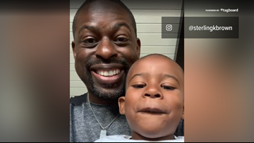 Sterling K. Brown posts adorable video with son after Emmy nomination