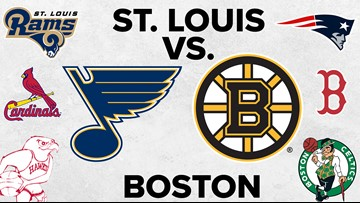 St. Louis vs. Boston: A match-up for the ages