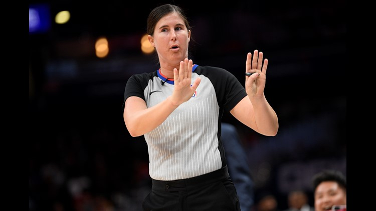 Farmington's Sago to be part of NBA's first two-woman ref crew