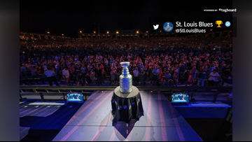 The Stanley Cup is back in St. Louis