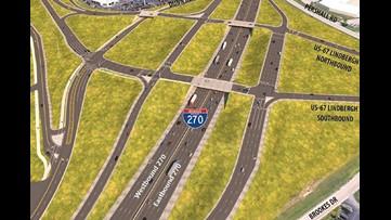 A massive reconstruction of I-270 begins next spring