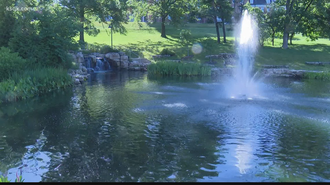 Clayton police investigating after body found in park pond