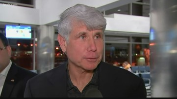 Ex-Gov. Blagojevich returns to Chicago after Trump commutes sentence, maintains innocence