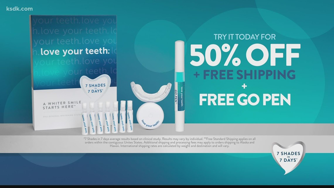 Your smile can affect others' perception of you: Try Love Your Teeth today for 50% off