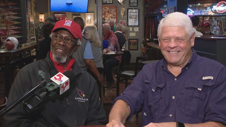 Big Red legends Mel Gray and Jim Hart still cherish legendary connection