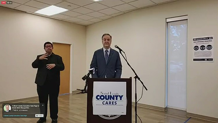 St. Louis County executive gives update on COVID-19