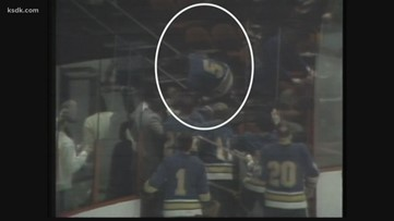 #VintageKSDK: Worst player-fan-police fight in hockey history