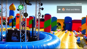 World's largest bounce house coming to St. Louis