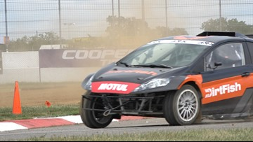 Rallycross is in St. Louis this weekend for the first time ever