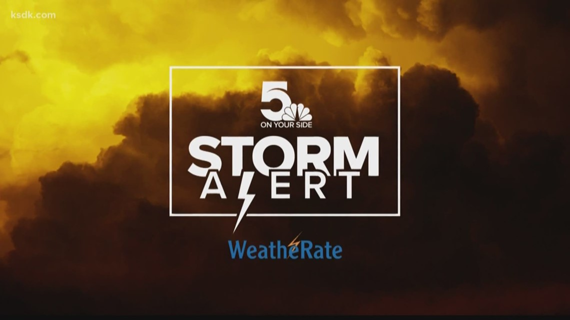 Storm Alert | Evening thunderstorms may produce strong winds