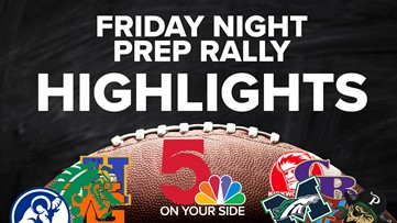 Week 1 high school football playoff highlights from around the area