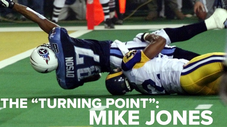 How 'The Tackle' changed Mike Jones' life