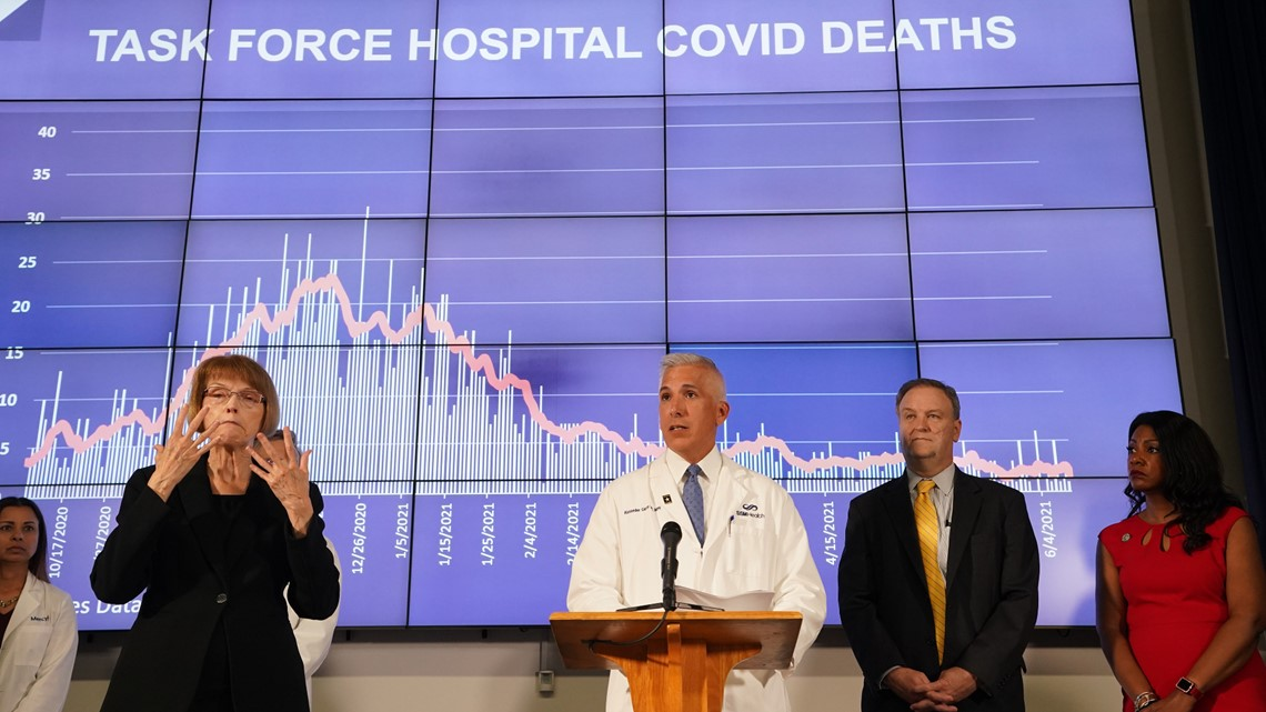 St. Louis pandemic task force gives final live briefing