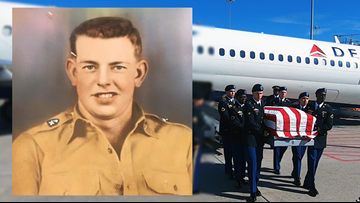 Fallen Korean War veteran from Arkansas finally returns home, 70 years later