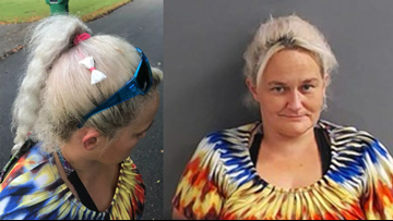Arkansas woman arrested wearing bag of meth as hair bow