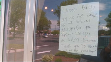 Sued by supermarket giant, Idaho bakery sells out after overwhelming support from community