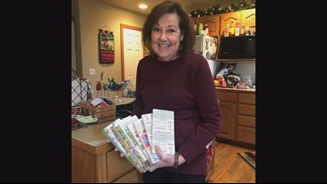 Colorado woman receives thousands of dollars worth of lottery tickets