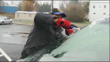 These winter weather hacks for your car will save you time