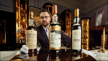 Whiskey collection with over 3,900 bottles heads to auction