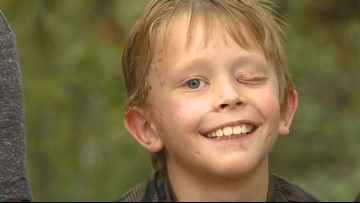 'I tried to punch it in the eye': 8-year-old boy fights off mountain lion attack with a stick