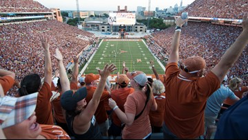 Petty or brilliant? Texas puts LSU band in the nosebleeds for Longhorns vs. Tigers game