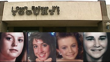 Why is the FBI withholding DNA evidence in Austin's 1991 yogurt shop murders?