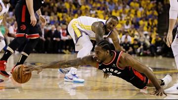 Raptors hit big shots, beat Warriors for 2-1 NBA Finals lead