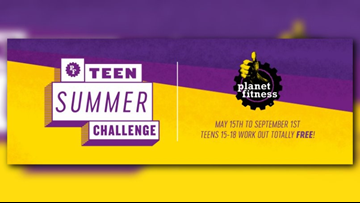 Planet Fitness offers free summer work outs for teens