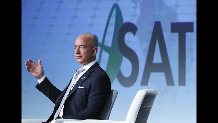 Amazon S Jeff Bezos Passes Bill Gates To Become World S Richest Man