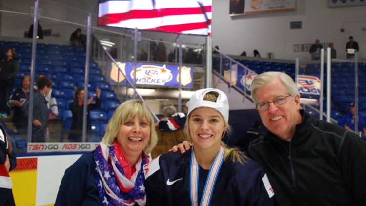 US Olympian threw mom's figure skater plans out the window