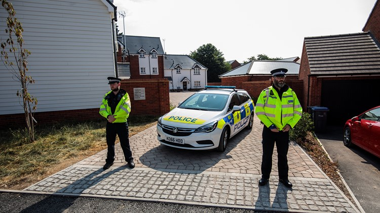 A British couple was poisoned by the nerve agent Novichok months after two other people were poisoned.